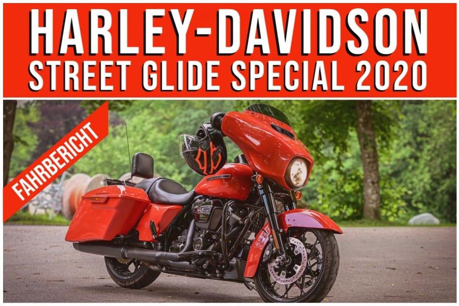 TEST – HARLEY-DAVIDSON STREET GLIDE SPECIAL 2020