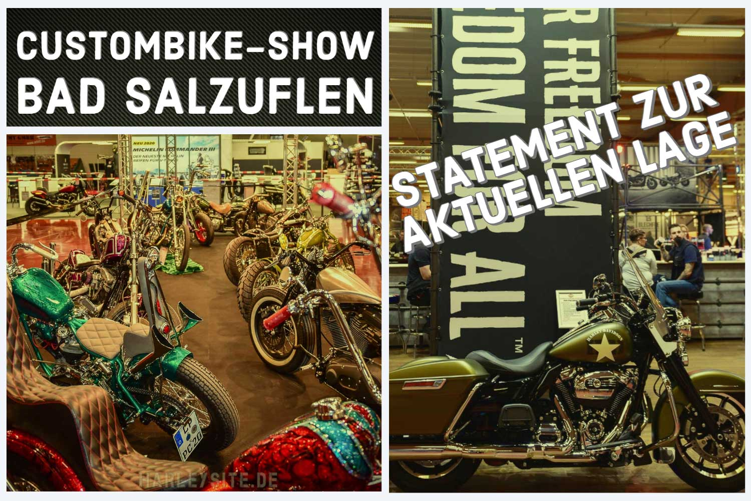 Statement zur aktuellen Lage der Custombike-Show in Bad Salzuflen