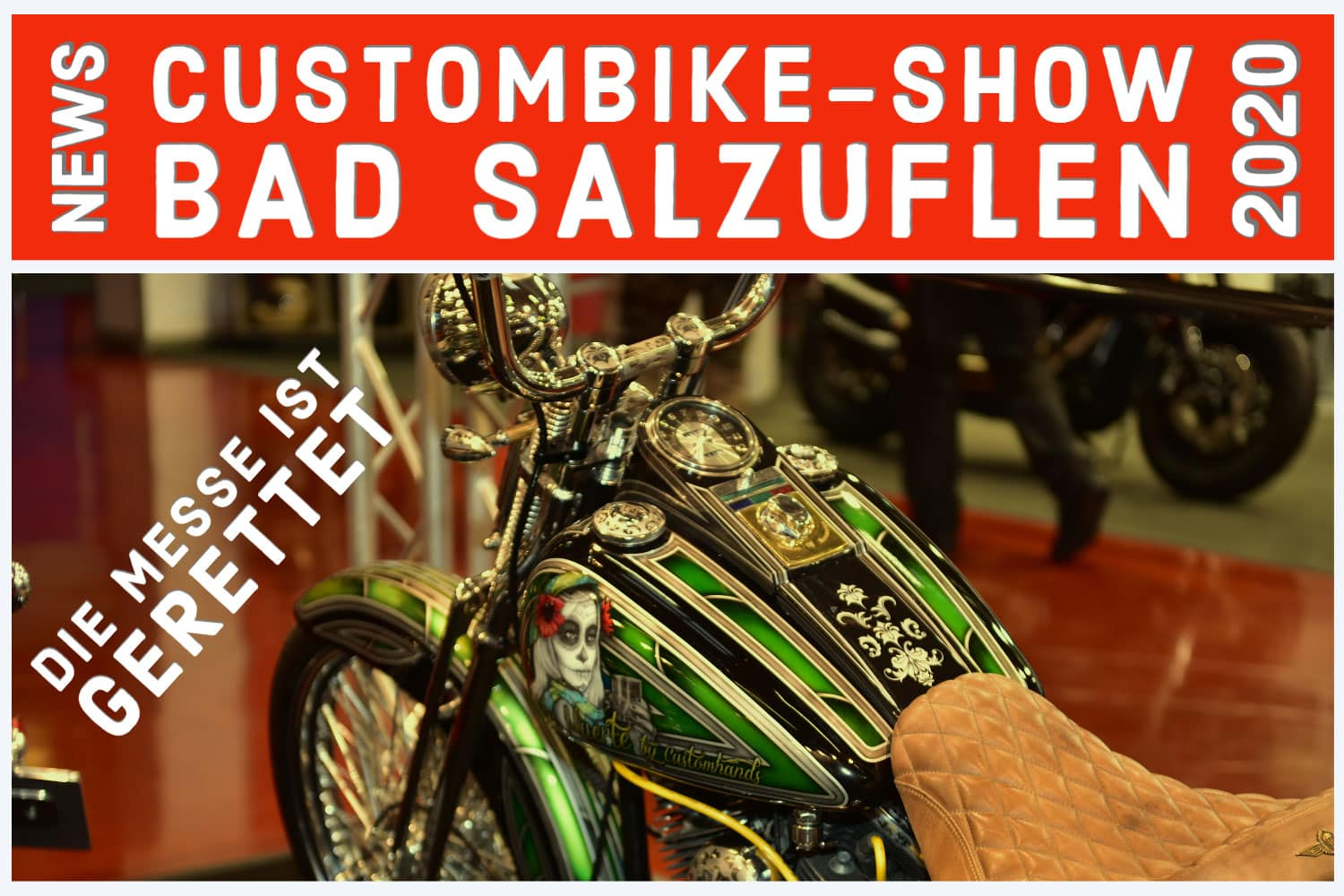 Custombike Show 2020 News