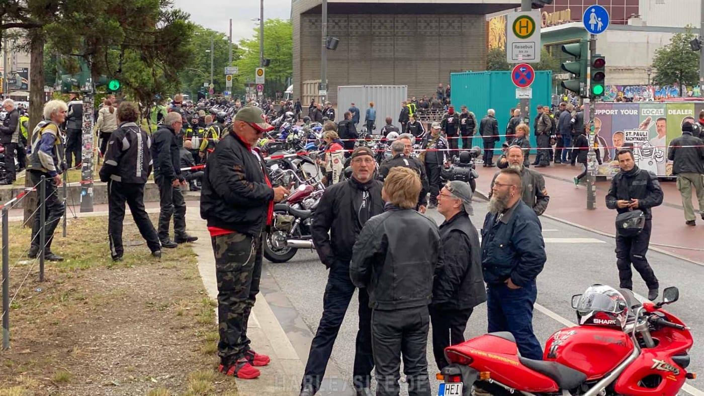 DEMO GEGEN MOTORRAD-FAHRVERBOTE HAMBURG 5