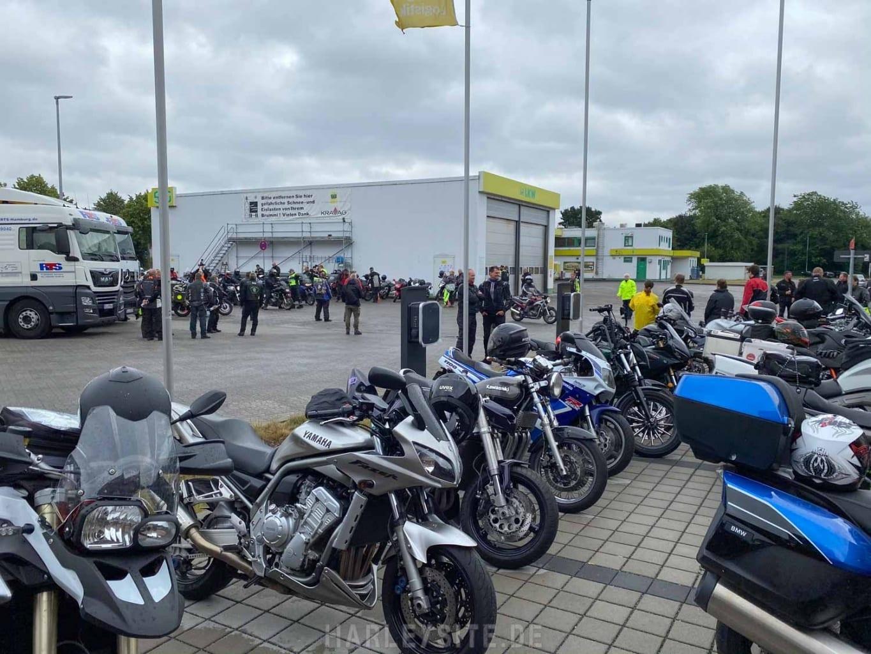 DEMO GEGEN MOTORRAD-FAHRVERBOTE HAMBURG 2