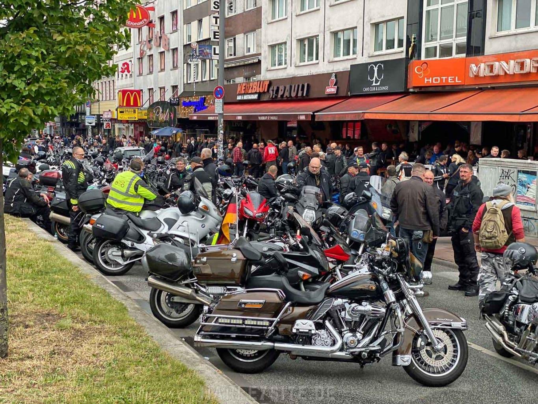 DEMO GEGEN MOTORRAD-FAHRVERBOTE HAMBURG 6
