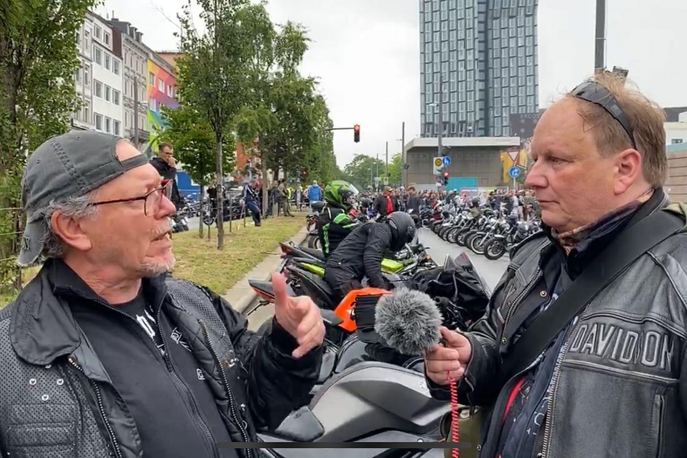 Interview mit Enrico auf der Reeperbahn in Hamburg