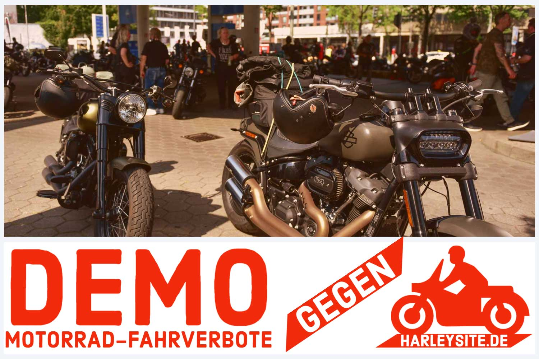 BUNDESWEITE MOTORRAD-DEMO AM SAMSTAG
