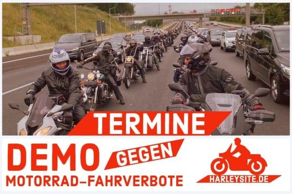 TERMINE MOTORRAD DEMO 2020