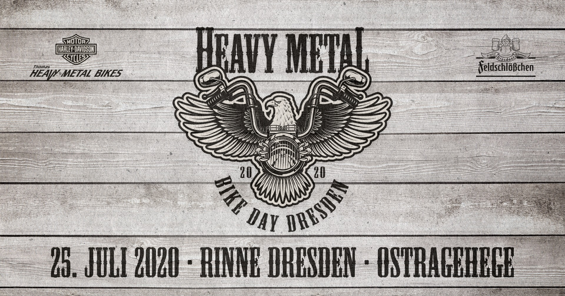 HEAVY METAL BIKE DAY DRESDEN