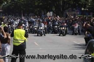 Hamburg Harley Days 2008 Ausfahrt