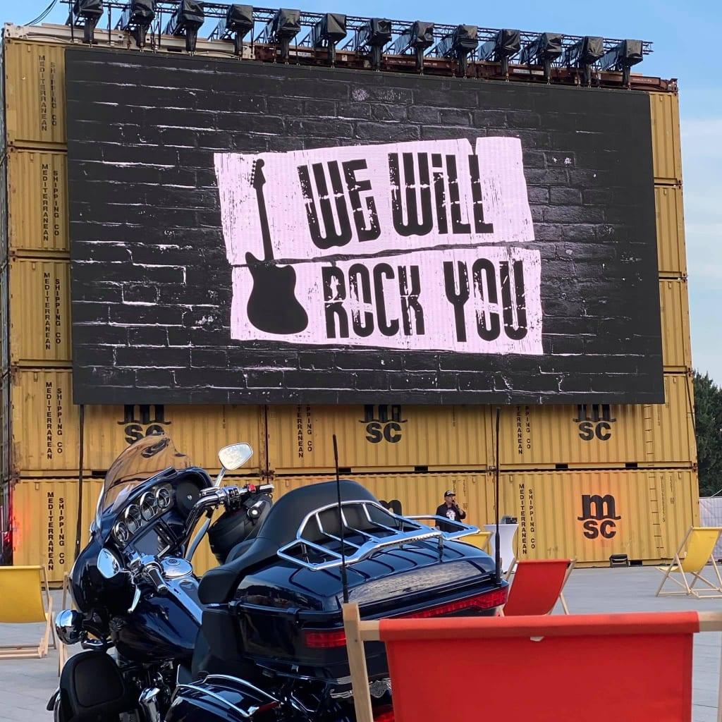 """Das Motto """"We will Rock you"""" haut hin! 💪"""