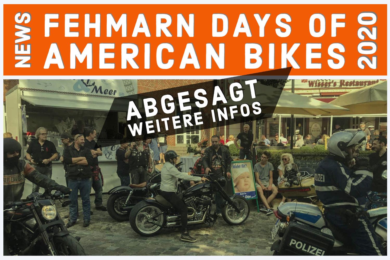 Fehmarn Days of American Bikes 2020 sind abgesagt 1