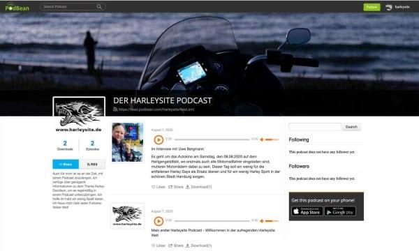 Harleysite Podcast 2020