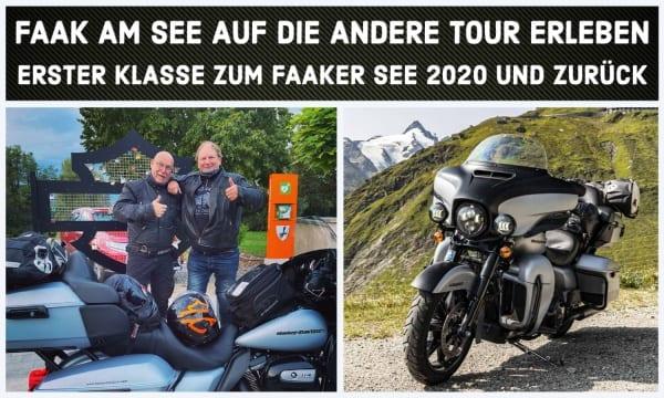 Die Harleysite Faak am See Tour 2020