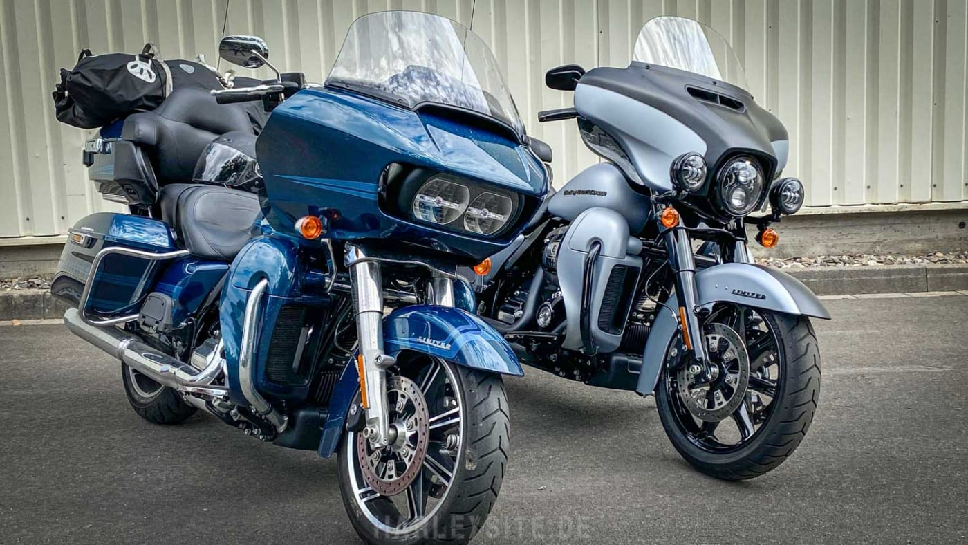 Road Glide Limited und Ultra Limited 2020