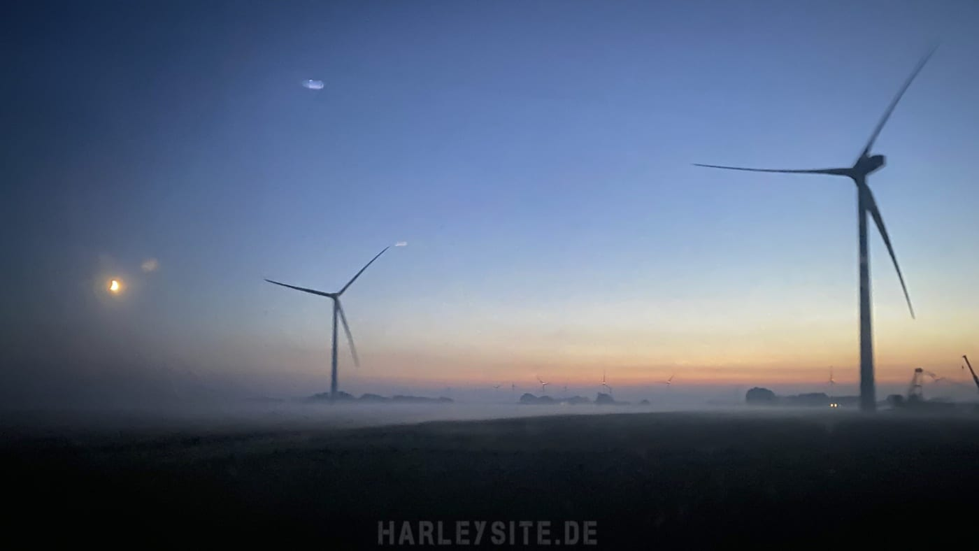 DB Sylt Shuttle Sonnenuntergang