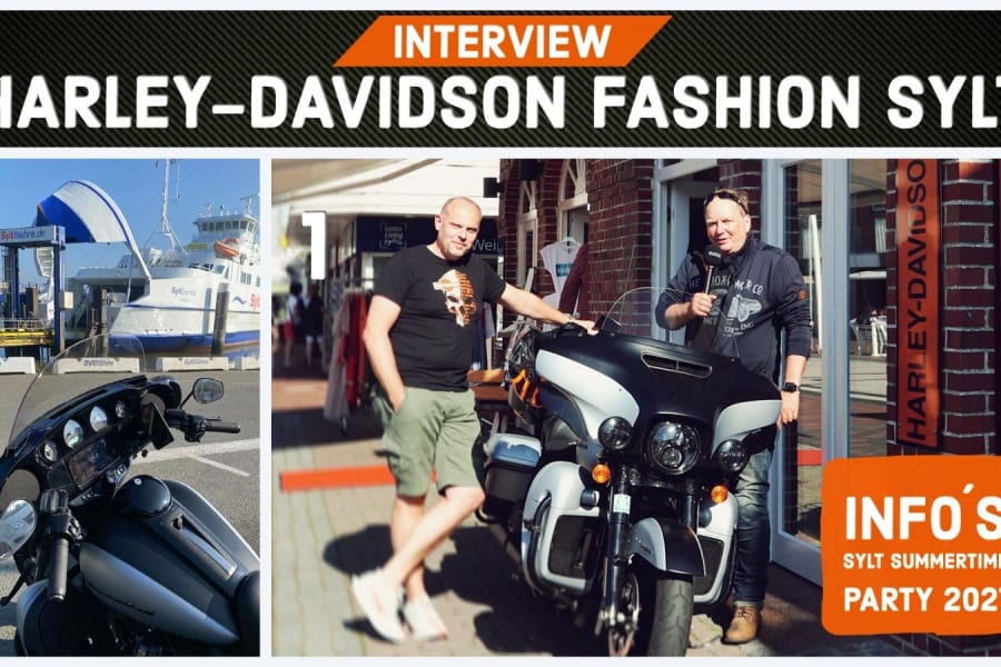 HARLEY-DAVIDSON FASHION SYLT & INFOS ZUR SYLT SUMMERTIME-PARTY 2021
