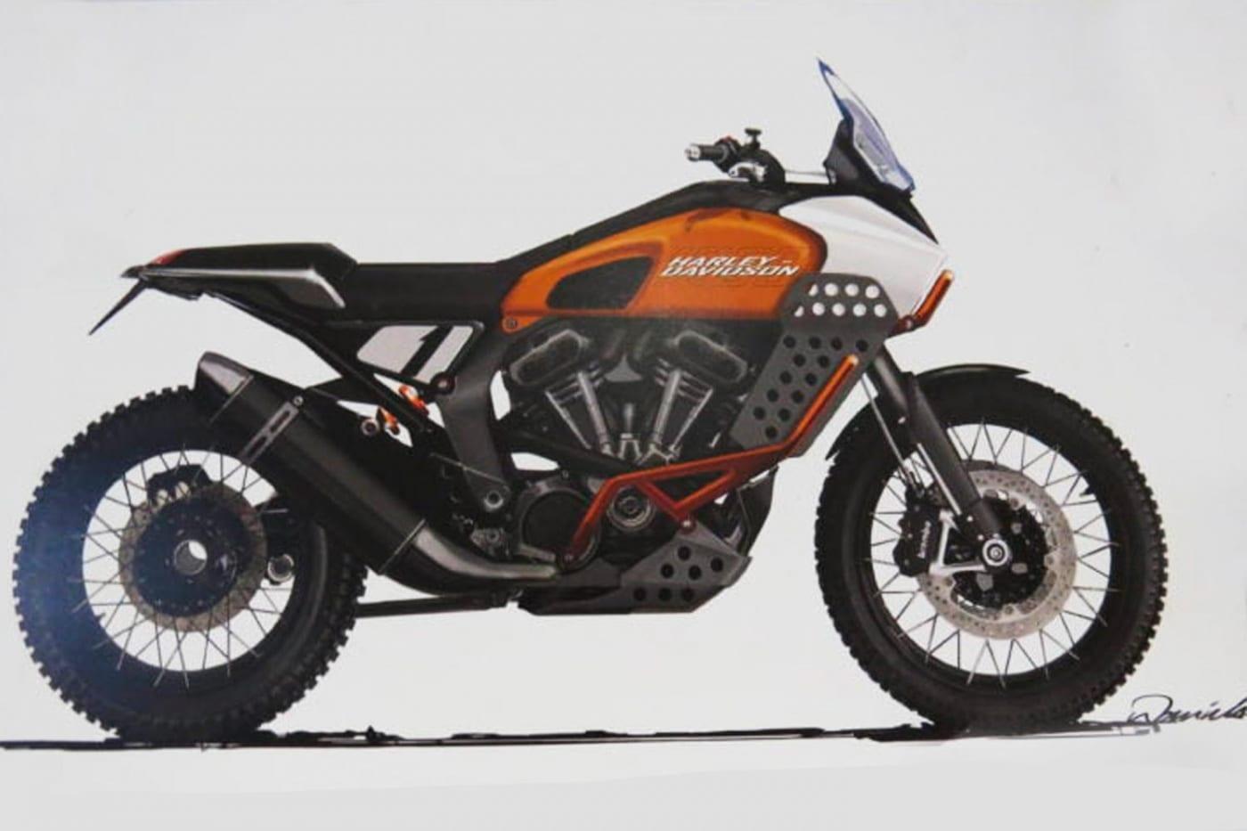 Harley-Davidson Prototyp