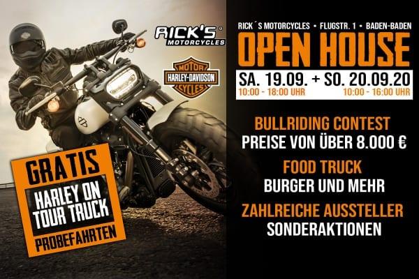 Rick´s Motorcycles Open House im September 2020