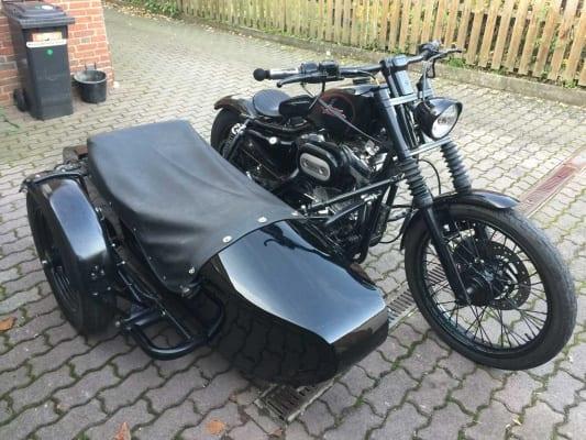 Harley-Davidson XLH Gespann gestohlen in Badenstedt 2020