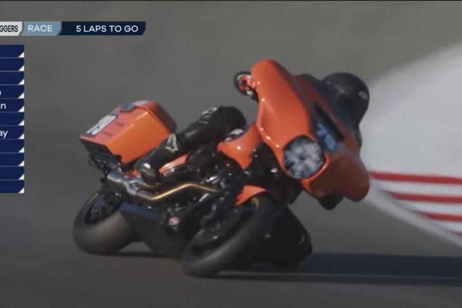 King of the Baggers Rennen in Laguna Seca läuft auf Hochtouren