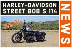 Street Bob S 114 Harley-Davidson - Foto zeigt Modell von 2020