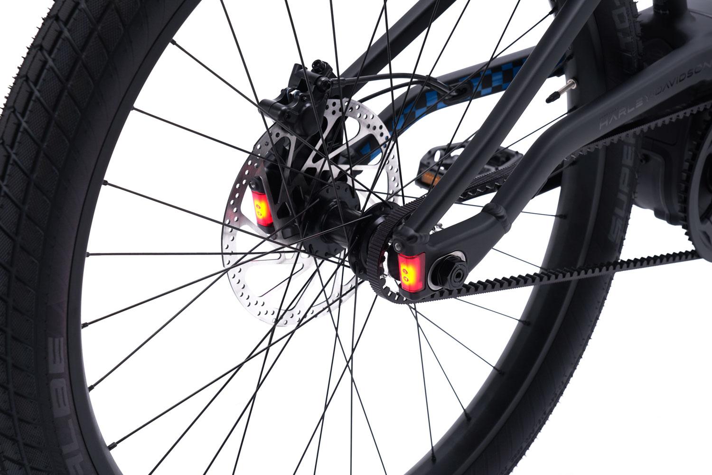 Integrierte LED-Rück- und Bremsleuchten
