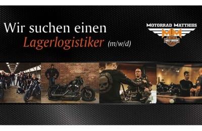 Jobangebot – Lagerlogistiker bei Motorrad Matthies in Tuttlingen