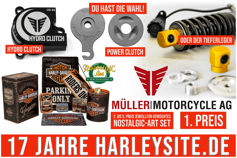 HARLEYSITE 17 Jahre Müller
