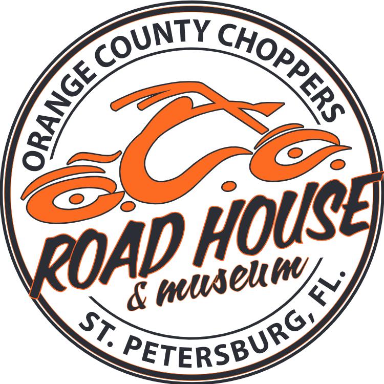 Das neue Orange County Choppers Road House mit OCC Museum und Cafe in Florida - Logo