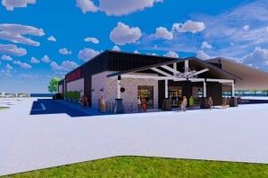 Das neue Orange County Choppers Road House mit OCC Museum und Cafe