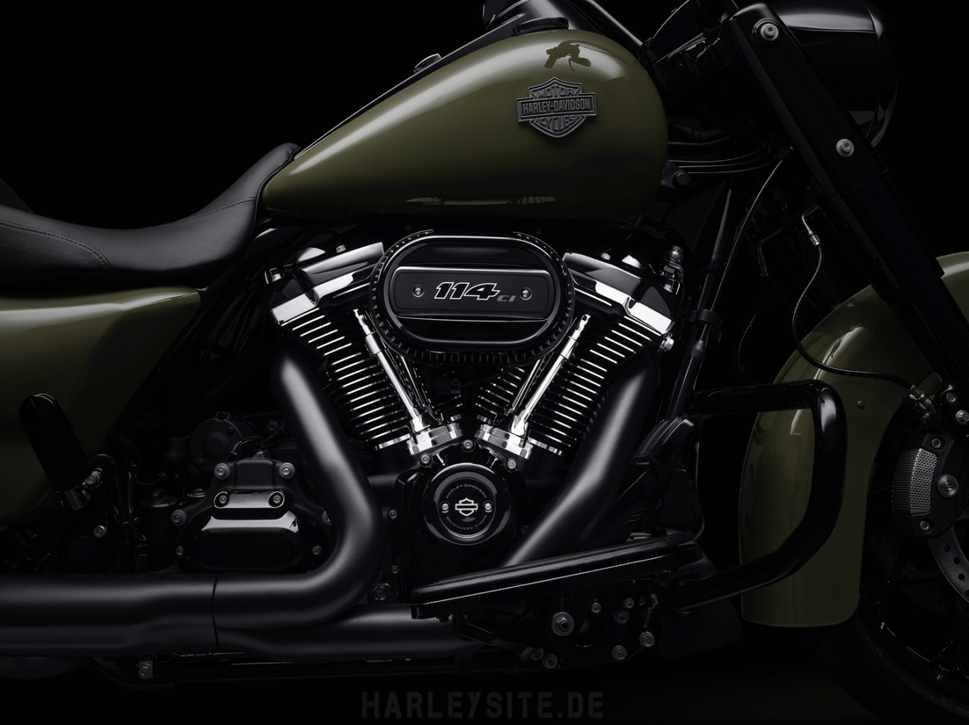 114cui Milwaukee-Eight Motor Road King Special 2021