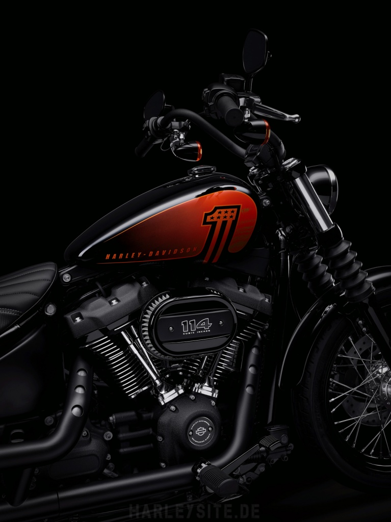 Harley-Davidson Street Bob 114 Modelljahr 2021