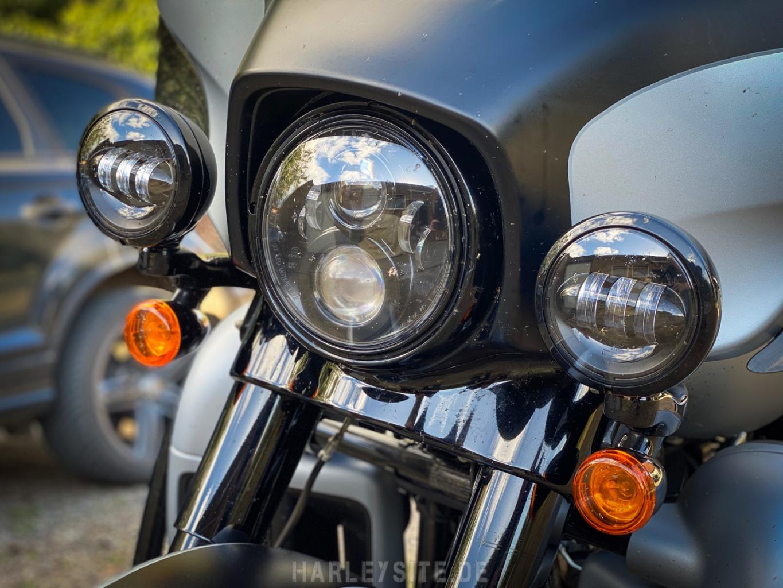 Die LED-Daymaker der Harley-Davidson Ultra Limited