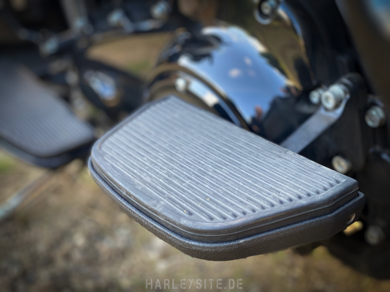 Harley-Davidson Ultra Limited Trittbrett für den Beifahrer