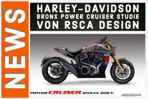 Harley-Davidson Power Cruiser RSCA Design Konzeptstudie