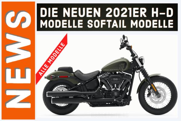 Harley-Davidson Softail Modelle 2021