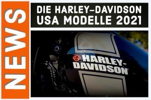 Harley-Davidson USA 2021 Modelle