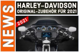 Harley-Davidson Original-Zubehör für 2021