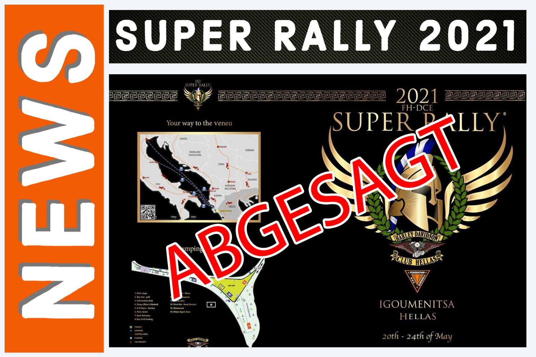 ABGESAGT – Super Rally 2021