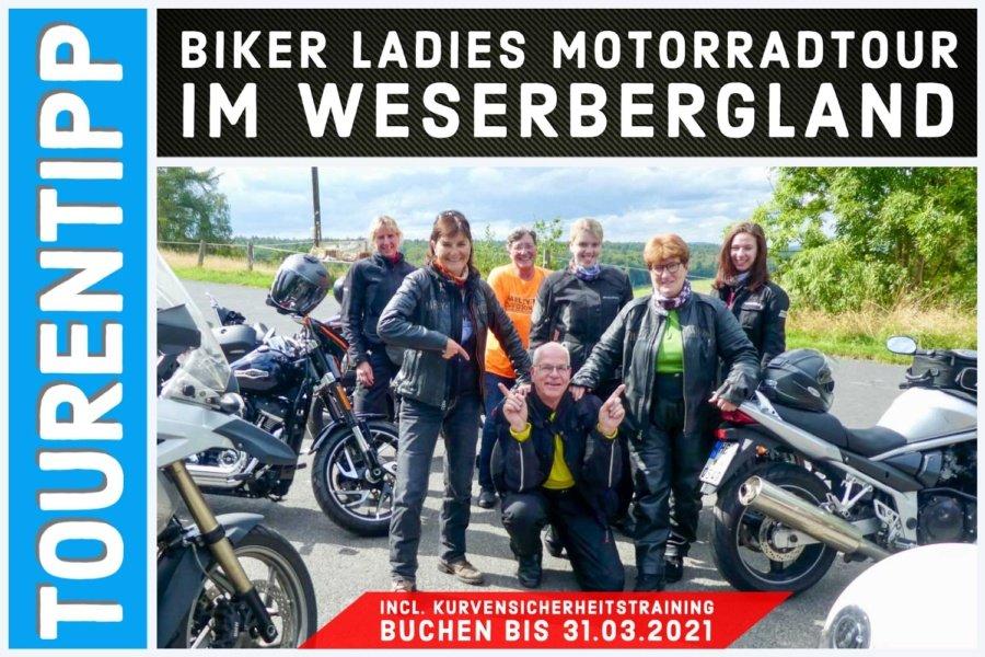 Biker Ladies Motorradtour im Weserbergland