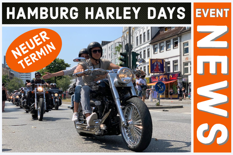 Hamburg Harley Days 2021 -Neuer Termin!