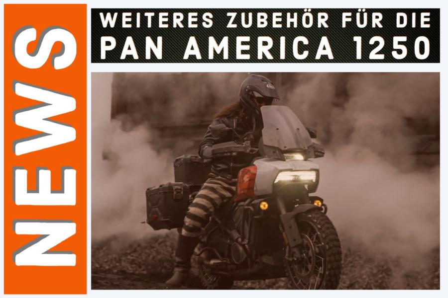 Weiteres Harley-Davidson Zubehör für die Pan America 1250
