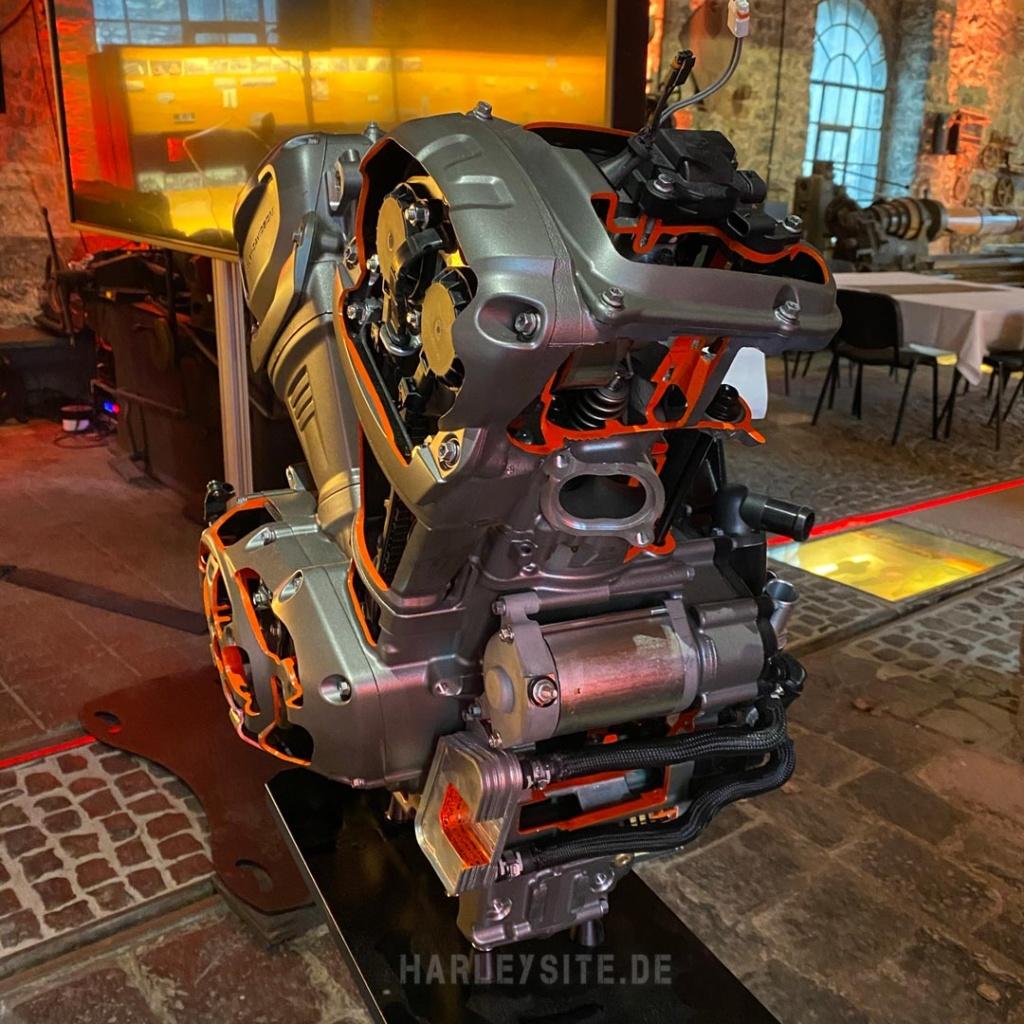 Der neue Harley-Davidson Revolution Max Motor