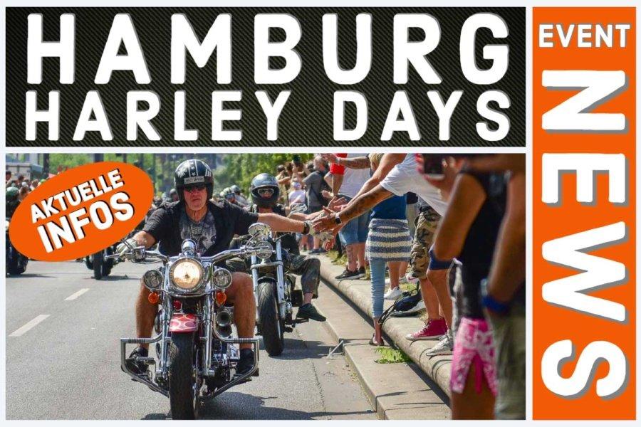 Aktuelles zu den Hamburg Harley Days 2021