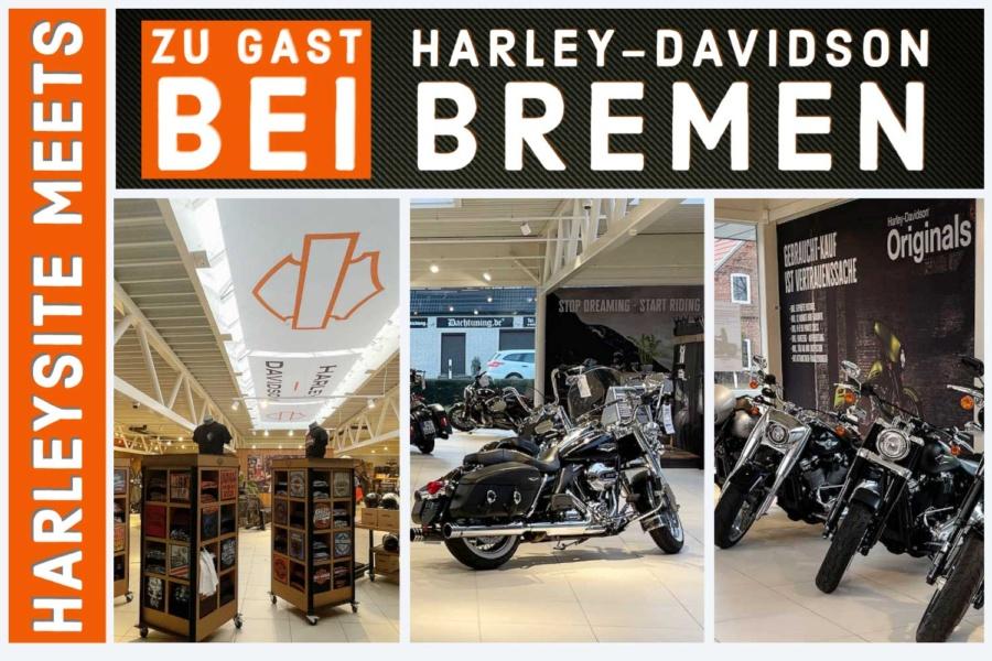 Zu Gast bei Harley-Davidson Bremen – YouTube Premiere