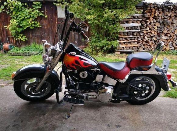 Polizeipräsidium Mittelfranken Harley-Davidson gestohlen