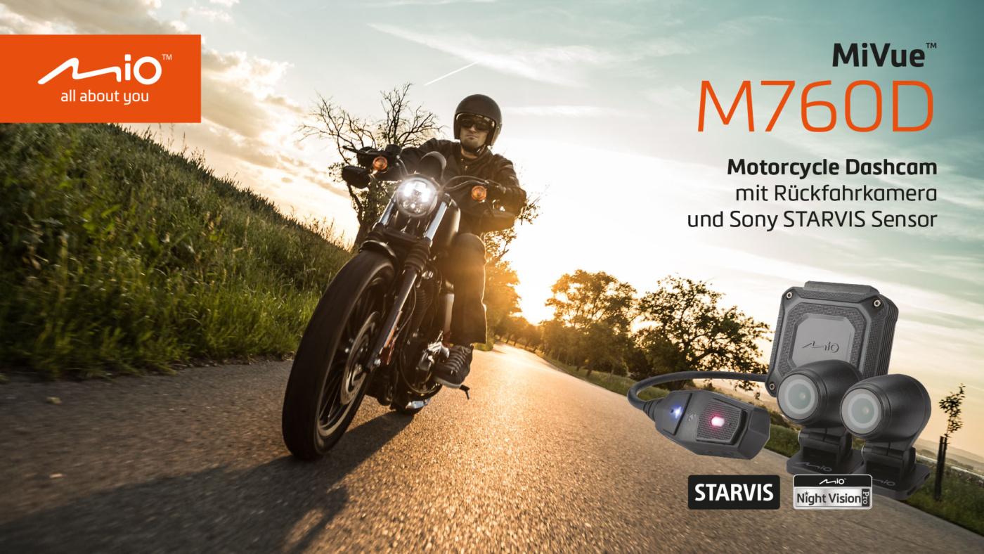 Mio MiVue M760D Dashcam für Motorradfahrer 5