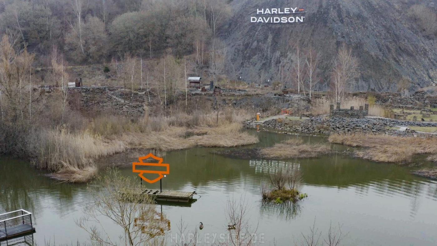 Stöffel-Park Pan America Adventure Gelände. Bildnachweis: Harley-Davidson