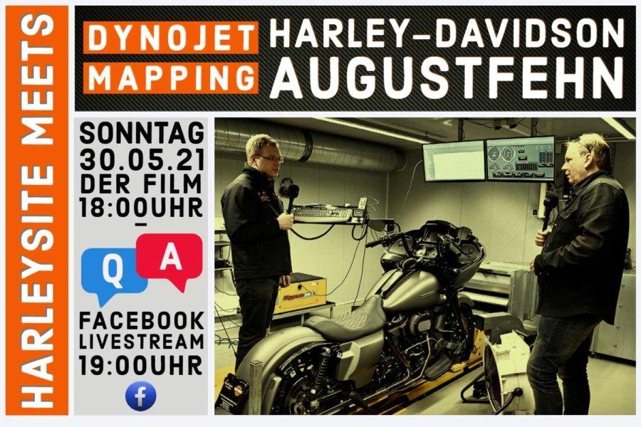 DynoJet Leistungsprüfstand Harley-Davidson Augustfehn – Infos zum Mapping