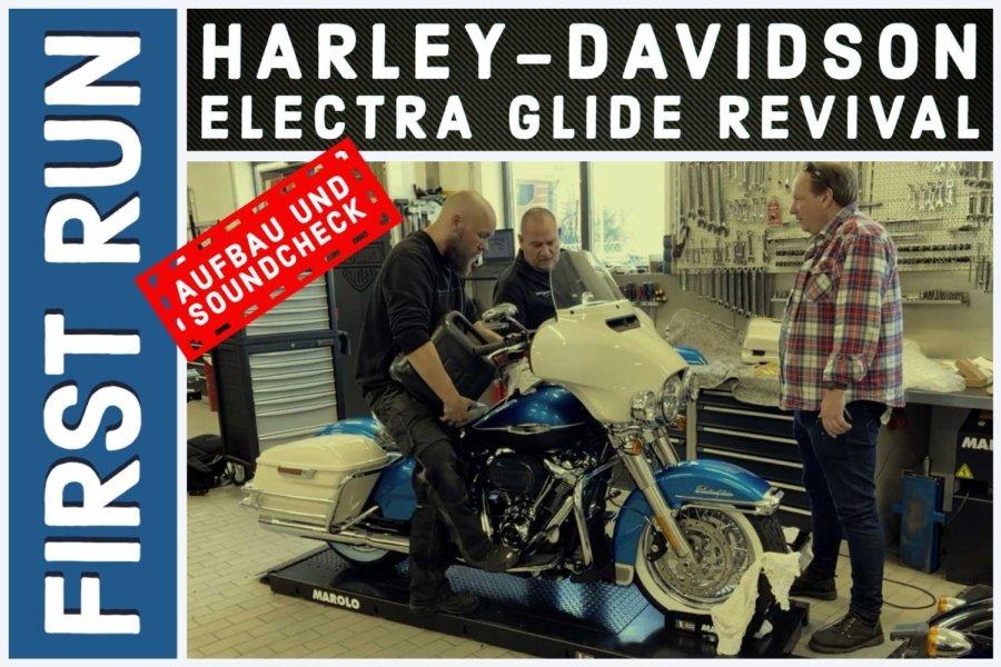 Harley-Davidson Electra Glide Revival – Aufbau und Sound