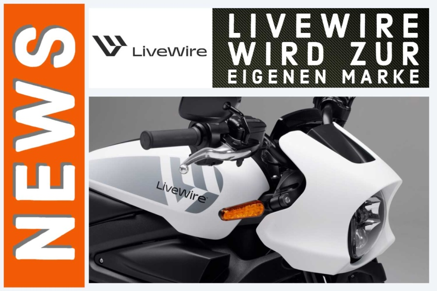LIVEWIRE wird zur eigenen Marke für Elektromotorräder