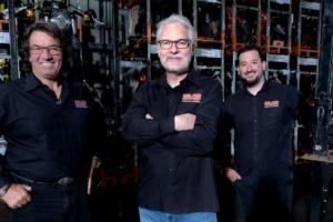 Zuwachs in der Geschäftsführung der SKS-Familie (v.l.n.r. Adrian Kießling, Andreas Scholz, Kevin Kießling)